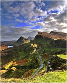 The Quiraing, Isle of Skye, Scotland photo by alan - Blue Pueblo