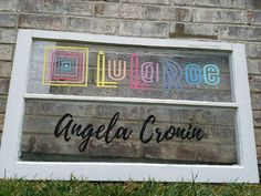 2 LulaRoe Stencils 10 x 4 (1 Lularoe +1 Full name)  ships today! FREE shipping! | Business & Industrial, Retail & Services, Business Signs | eBay!