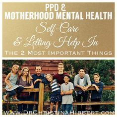 PPD  Motherhood Mental Health: Self-Care  Letting Help In–The 2 Most Important Things (PSI Blog Hop 2014)