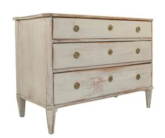 Gustavian Chest | From a unique collection of antique and modern commodes and chests of drawers at https://www.1stdibs.com/furniture/storage-case-pieces/commodes-chests-of-drawers/