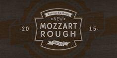 Mozzart Rough font download