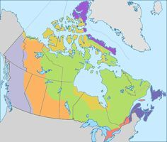 Canadian geophysical regions clickable map quiz, appropriate for grades 4-8.  #geography