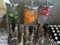 Flavored beverage station