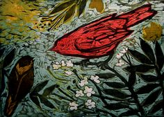 messenger- woodcut but Kent Ambler