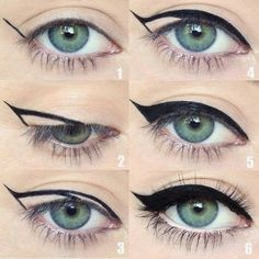 How to Do Winged Eyeliner - USA Fashion Trends