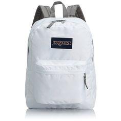 JanSport SuperBreak Backpacks White Brand new with tags Jansport Superbreak Backpack, White Backpack, Backpack Bags, Fashion Backpack, Backpack Online, Duffle Bags, Messenger Bags, Models, Fashion Clothes