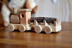 Train en bois Train jouet ensemble de Train en par TeddyForestShop