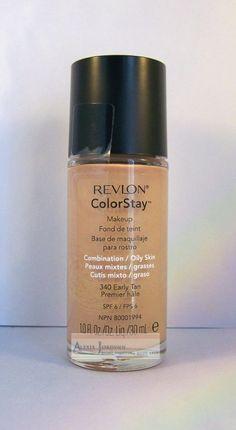 Revlon ColorStay Foundation Makeup Combo Oily Skin - Early Tan 340 #Revlon