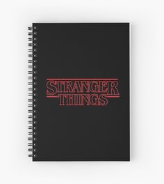 Stranger Things Classic Title : RED OUTLINE VARIANT