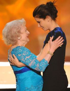 Sandra Bullock presented Betty White with the 2010 Screen Actors Guild Life Achievement Award. The two constantly joke back and forth, but their friendship runs deep.