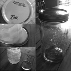 Use mason jars a drinking glasses and use the left over lids as coasters turned upside down to collect drainage :)