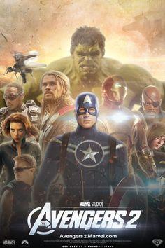 Los Vengadores 2: nuevas imágenes con Thor, Iron Man y la Torre Vengadores