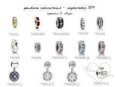 pandora retirement september 2014 spacers and clips