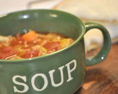 Slim Down Veggie Soup