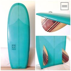 """@Hage Surfboards & Designs's photo: """"Mini Simmons 5'0"""" - woodfins by @alfredoquilhas - #resintint #resinwork #ridinghage #hagesurfboards #quilhasalfredo #woodwork #woodfins #minisimmons #surf #surfart #art"""""""