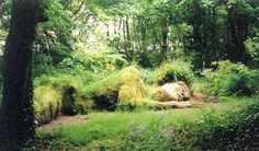 The Lost Gardens of Heligan . Sleeping Mud Maid . Photo : Emma Websdale .