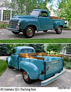 Didn't even know that Studebaker made trucks!  1952 Studebaker 2R5 1/2-Ton Pickup Truck