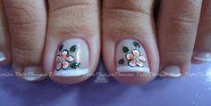Diseño para uñas de los pies Painted Toes, Toe Nail Designs, Toe Nails, Beauty, Pedicures, Nail Designs, Feet Nails, Toenails
