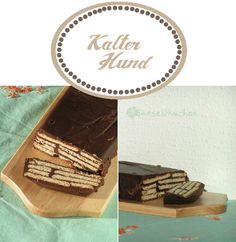 Kalter Hund Post, Recipies, Childhood, Sweets, Memories, Cakes, Cooking, Kitchen For Kids, Pies