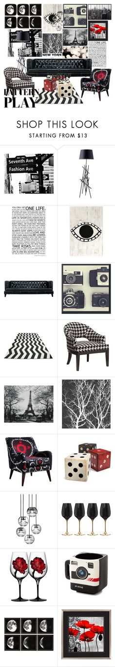 """The Giver Started With Red"" by asparamoreluvr ❤ liked on Polyvore featuring interior, interiors, interior design, home, home decor, interior decorating, Dot & Bo, WALL, Driade and Graham & Brown"