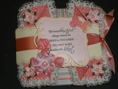 My own Napkin Fold Card front