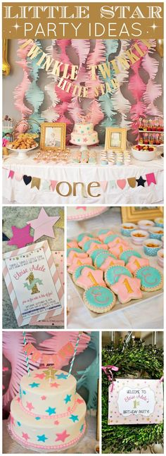 You  have to see this gorgeous Twinkle Twinkle Little Star party! See more party ideas at CatchMyParty.com!
