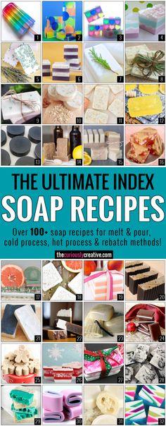 Ultimate-Soap-Recipe-Index