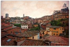 Burnt #Siena, #Tuscany