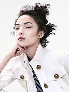 Xiao Wen Ju by Sharif Hamza for Vogue China June 2015   The Fashionography