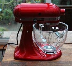 I'm Expecting this Week (19Nov13):  a Candy Apple Red KitchenAid.  Gotta gear up to make this not be a trophy appliance, or I'll never hear the end of it.