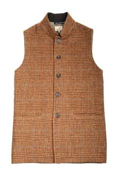 Campbell& of Beauly - Mens Tweed Nehru Collar Gilets Men's Waistcoat, Tweed, Classic Style, Collars, Men's Fashion, Menswear, Stylish, How To Wear, Jackets
