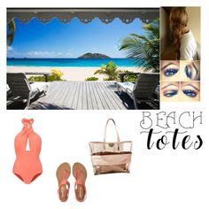 """""""Beach Totes"""" by princesskay03 on Polyvore featuring Lilliput & Felix, Aéropostale and beachtotes"""