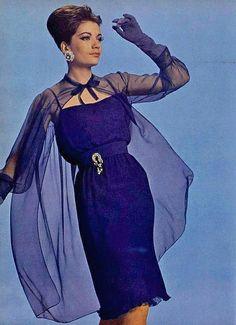 Cocktail Dress 1962 by dovima_is_devine_II, via Flickr