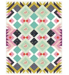 Patterns | COTTON + STEEL FABRICS Mustang Quilt free pattern