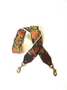 d70ca915f77d The Copper Penny Guitar Strap Style Bag Strap- Orange