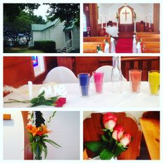 Sand ceremony St Margarets chapel Gold Coast