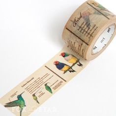 MT ex Bird Washi Tape