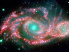 Fusión de galaxias