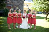 Kingfield Wedding at Mountain Village Farm by Meredith Perdue + daisies & pearls | Style Me Pretty