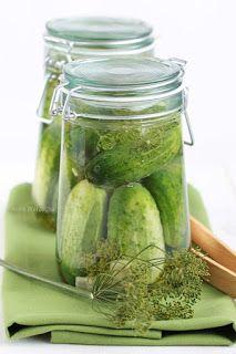 Zimowa sałatka z cukinii - Wiem co jem Pickles, Cucumber, Mango, Food, Manga, Essen, Meals, Pickle, Yemek