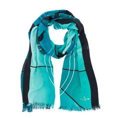 kate spade new york / simply cinema scarves film strip scarf