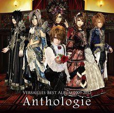 Versailles (c'est un montage : ils n'ont jamais été six, Masashi a remplacé Jasmine You) but it's a nice photo ;)