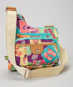Look at this #zulilyfind! Flip Flop Crossbody Bag by Lily Bloom http://www.zulily.com/?SSAID=930758&tid=acceleration_930758 #zulilyfinds