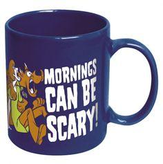 """Scooby-Doo """"Mornings Can Be Scary"""" Ceramic Mug"""