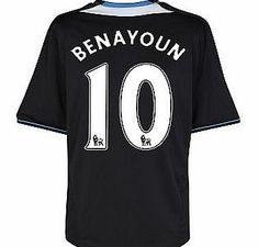 Chelsea Away Shirt Adidas 2011-12 Chelsea Away Football Shirt (Benayoun 10) Buy the brand new Chelsea away shirt for the 2011/12 Premiership season complete with Yossi Benayoun shirt printing.The new Chelsea football shirt is manufactured by Adidas and is available in kids si http://www.comparestoreprices.co.uk/football-shirts/chelsea-away-shirt-adidas-2011-12-chelsea-away-football-shirt-benayoun-10-.asp