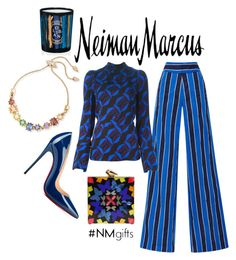 """Neiman Marcus: Contest Entry"" by brandnewjen ❤ liked on Polyvore featuring Eddie Borgo, Diptyque, Neiman Marcus, Derek Lam, Marni, KOTUR, Christian Louboutin and NMgifts"