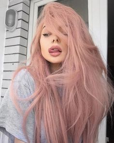 Pastel pink hair pastel hair 60 Fresh Spring Hair Colors For The REAL Fashionistas Hair Dye Colors, Cool Hair Color, Hair Color Pink, Nail Colors, Colours, Spring Hairstyles, Pretty Hairstyles, Hairstyle Ideas, Pastel Pink Hair