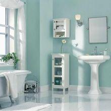 Badeværelse indretning - Flotte og holdbare farver på badeværelset