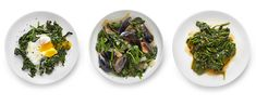 Braised Spinach via NYTimes