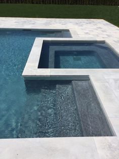 Best Pool Tiles Option for Your Swimming Pool Swimming Pool Tiles, Swimming Pool Landscaping, Small Swimming Pools, Swimming Pool Designs, Lap Pools, Indoor Pools, Small Pools, Backyard Pool Designs, Small Backyard Pools